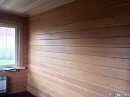 Имитация бруса для отделки дома, дачи, гаража, сарая сорт В