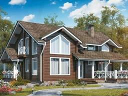 Индивидуальные, типовой (готовый) проект загородного дома