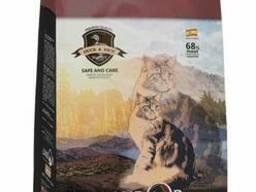 Landor Полнорационный сухой корм для кошек, живущих в помещении утка с рисом 0,4 кг. ..