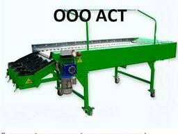 Инспекционный стол 1000х2500 с роликовым полотном