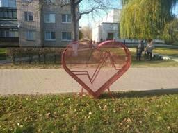 """Инсталляция """"Сердце кардио"""""""