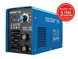 Инвертор сварочный Solaris MMA-200I (230В; 20-200 А; 70В;. ..