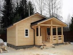 Деревянные дома и бани - фото 1