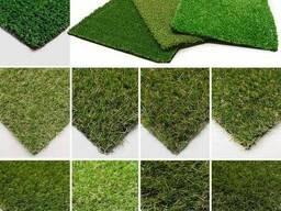 Искусственное покрытие газон ( трава искусственная )
