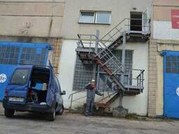 Испытания пожарных лестниц и ограждений в Минске и. ..