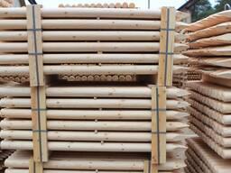 Изделия из оцилиндрованной древесины
