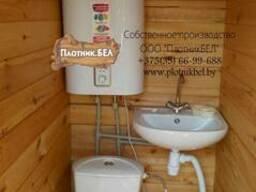 Изготовим дачный туалет с сантехникой
