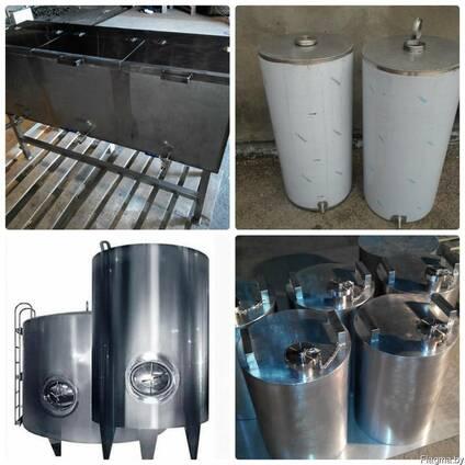 Изготовим изделия из нержавеющей и конструкционной стали.