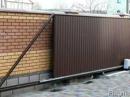 Изготовление и монтаж откатных ворот в Могилёве