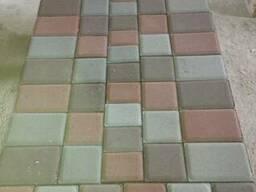Изготовление и укладка тротуарной плитки, бордюра дек. камня - фото 2