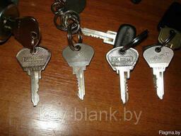 Изготовление ключей для автомобиля жигули москвич волга