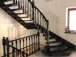 Изготовление лестниц, столов, беседок из массива - фото 1