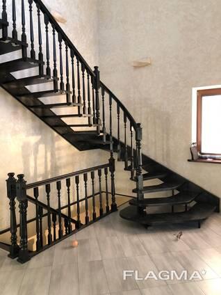 Изготовление лестниц, столов, беседок из массива