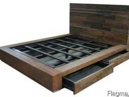 Изготовление мебели из массива дерева под заказ
