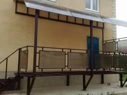 Изготовление металлоконструкций и монтаж.