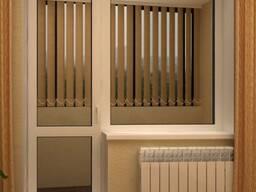 Изготовление окон балконов и дверей из пвх