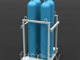 Поддон (контейнер) для хранения и транспортировки баллонов ПМБ-1