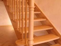 Изготовление, установка, монтаж деревянных лестниц.