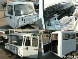 Кабина ГАЗ-3307 в сборе с сидениями, без оперения
