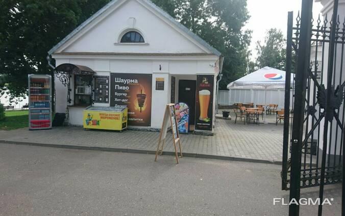 Кафе на территории Несвижского замка