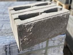 Камень декоративный столбовой модуль ломанный