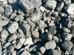 Каменнный уголь для отопления крупный, доставка по Беларуси