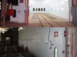 Камера окрасочно-сушильной проходного типа Atis Aqua Trucke