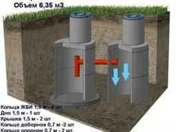 Услуга Канализация из бетонных колец под ключ