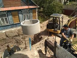 Наружная канализация под ключ за 1 день