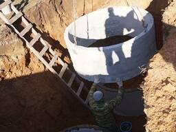 Кольца для канализации и колодцев. Канализация под ключ.