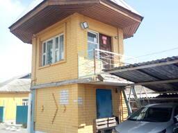 Капитальное строение (Двухэтажное кирпичное здание поста охр