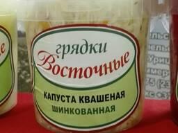 """Капуста шинкованная от ОАО """"Комбинат """"Восток"""""""