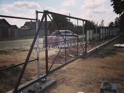 Каркас для откатных ворот с комплектующими
