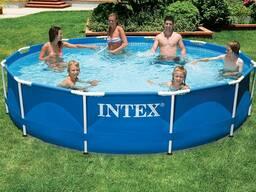 Каркасный бассейн Intex Metal Frame 366х76 см 56996/28212