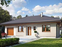 Каркасный дом 72м2 за 80000 руб.