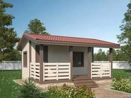 Каркасный дом, дачный дом под ключ, дом из бруса цена