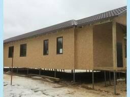 Каркасный дом, хозяйственная постройка круглый год