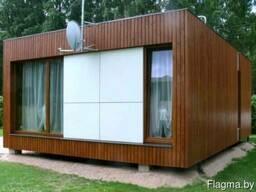 Каркасный модульный дом в Минске