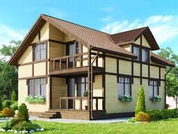 Строительство домов под ключ. Работаем с любым материалом