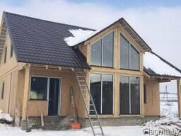 Каркасные дома. Строительство под ключ. Комплекты домов. СИП