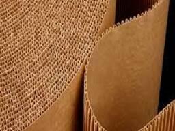 Картон гофрированный листовой и рулонный