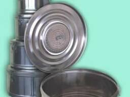 Кассеты коробки стерилизации нержавеющие круглые с фильтром