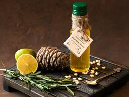 Кедровое масло холодного отжима (сыродавленное)