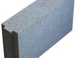 Керамзитобетонные блоки 100 мм шириной, для перегородок полн