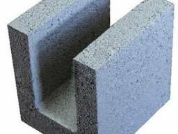 Керамзитобетонные блоки для перемычек 200 мм шириной