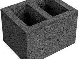 Керамзитобетонные блоки для вентканалов, 2-х канальные