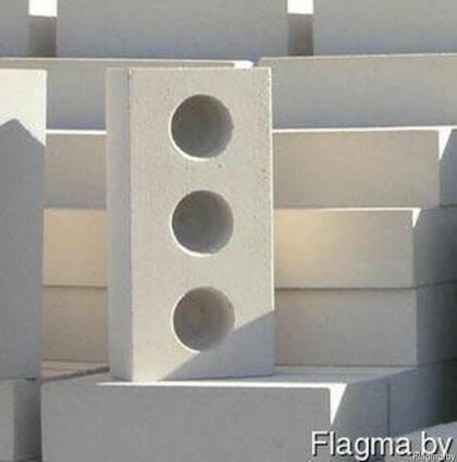 Кирпич белый силикатный трехпустотный