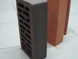 Кирпич керамический лицевой(облицовочный) пустотелый шоколад
