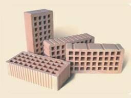 Кирпич пустотелый керамический