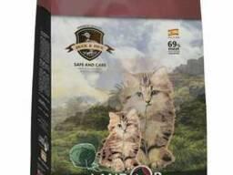 Landor Полнорационный сухой корм для котят утка с рисом 10 кг , 7843120